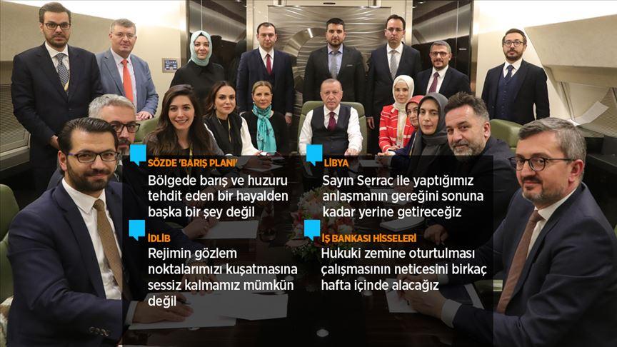 Erdoğan: Şu anda FETÖ'den mahkum olanlara aldıkları cezaları askeri mahkeme verebilir miydi?
