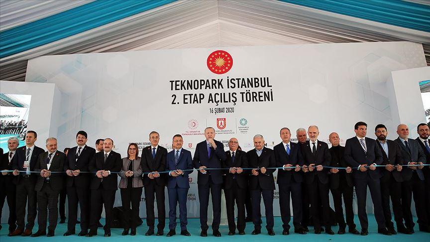 Erdoğan: Ülkemize 18 yılda dev eserler yanında birçok teknopark kazandırdık