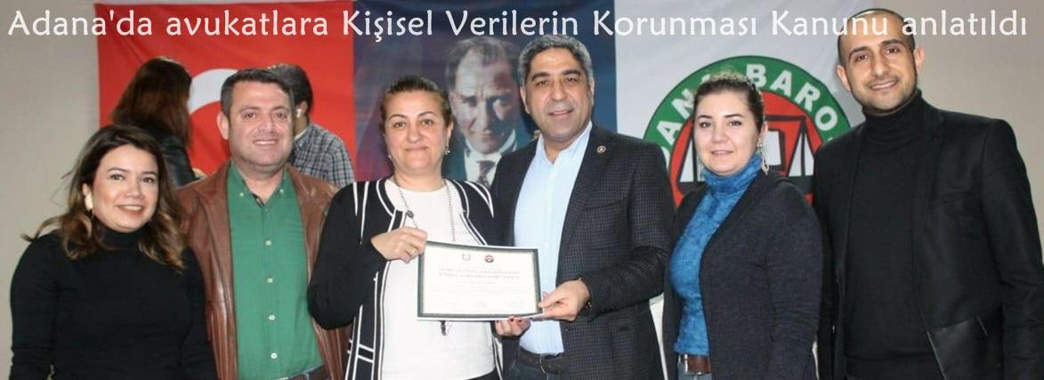 Adana'da avukatlara Kişisel Verilerin Korunması Kanunu anlatıldı