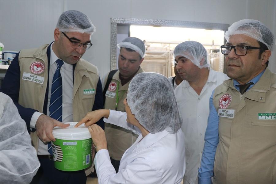 Adana'da süt ve süt ürünleri denetimi yapıldı