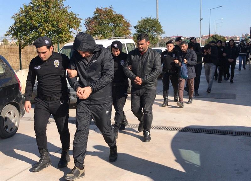 Adana ve İstanbul'daki suç örgütü operasyonunda 13 zanlıdan 6'sı tutuklandı