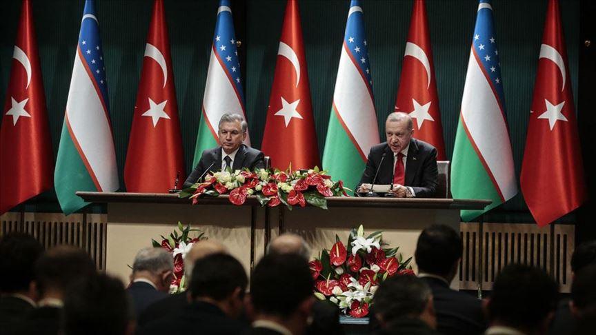 Erdoğan: Özbekistan ile ticaretimizi 5 milyar dolara çıkarmayı hedefliyoruz