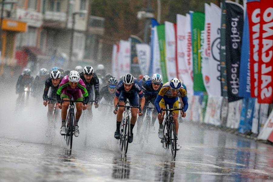 Antalya Bisiklet Turu'nda ikinci etap sona erdi