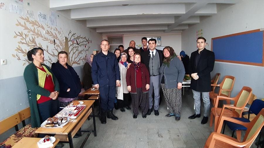 Kaymakam Sevgili'den Halk Eğitim Merkezi kursiyerlerine ziyaret