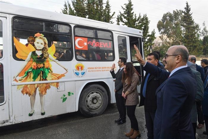 Vali Demirtaş Ortaokul Öğrencilerini Adana Müzesine Uğurladı