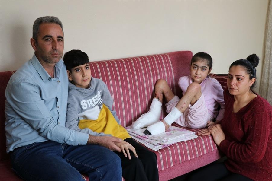 Bacağındaki genetik rahatsızlık yüzünden 10 yaşında eve hapsoldu