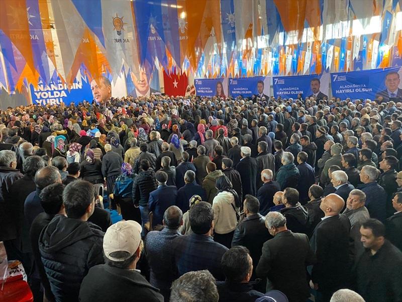 AK Parti Aladağ ilçe kongresi yapıldı