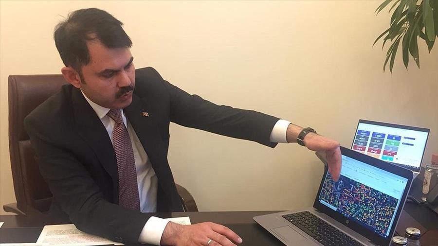 Çevre ve Şehircilik Bakanı Kurum: 81 ilin 3 boyutlu dijital ikizini çıkardık