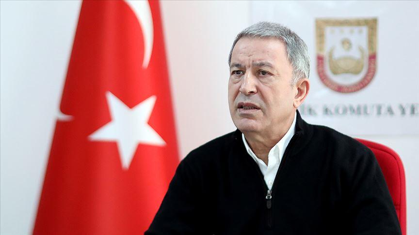 Milli Savunma Bakanı Akar: Birlik, karargah ve kurumlarımızın ihtiyaçları aralıksız karşılanmaktadır
