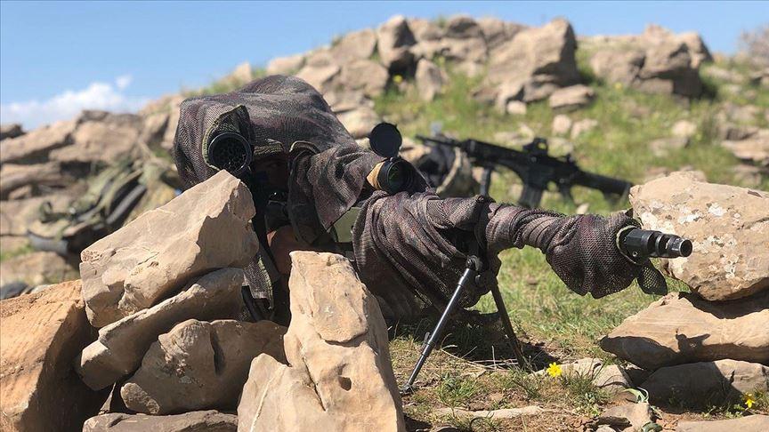 MSB: Barış Pınarı Harekatı bölgesinde 2 terörist etkisiz hale getirildi