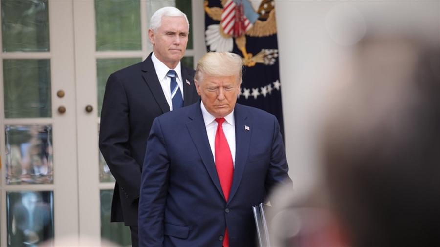 Trump ile aynı ortamda bulunacaklara Kovid-19 testi şartı getirildi