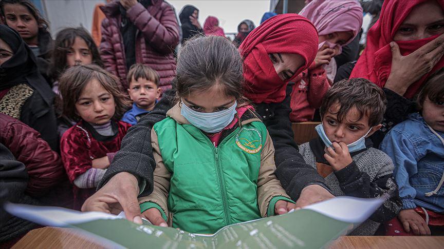 İdlib'de Kovid-19'a karşı kısıtlı imkanlara rağmen önleyici tedbirler artırılıyor