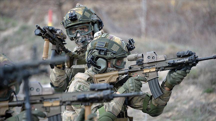MSB: Saldırı girişiminde bulunan 10 PKK/YPG'li terörist etkisiz hale getirildi