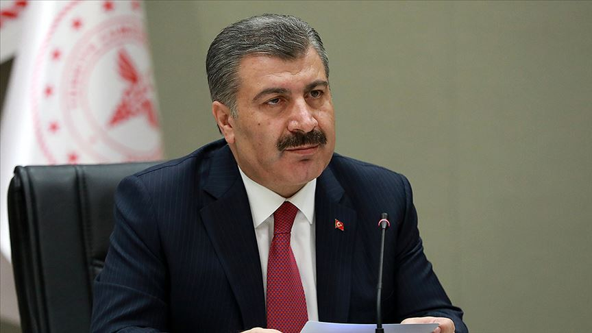 Sağlık Bakanı Koca: Son 24 saatte vefat sayısı 76 oldu