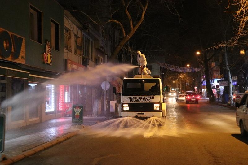 Pozantı Belediyesinin Kovid-19 tedbirleri
