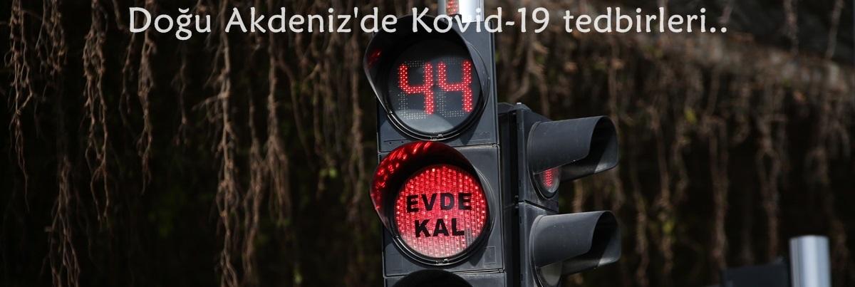 Doğu Akdeniz'de Kovid-19 tedbirleri