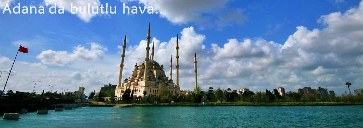 Adana'da bulutlu hava