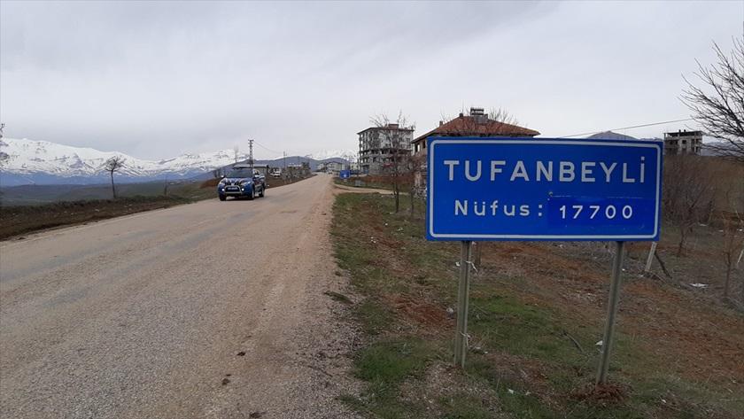 Karantinaya alınan Adana Tufanbeyli'de giriş-çıkışlara izin verilmiyor
