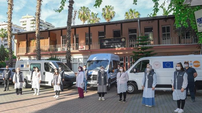 Mobil Hizmet Araçları Mevsimlik Tarım İşçilerine Yönelik Faaliyetlerine Başladı