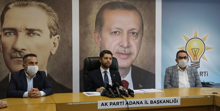 AK Parti'li Çelik ve Sarıeroğlu, Adana'daki partililerle telekonferansla bayramlaşacak