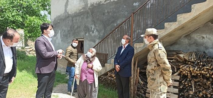 Tufanbeyli Kaymakamı Sevgili, şehit aileleri ve gazileri ziyaret etti