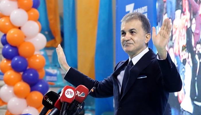 AK Parti Sözcüsü Ömer Çelik, partisinin Adana 7. Olağan İl Kongresi'nde konuştu: