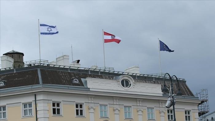 Avusturya ile Sırp entitesindeki devlet binalarında İsrail bayrağına yer verildi