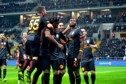 Bursaspor 2- 5 Galatasaray