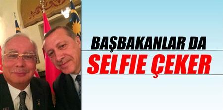 Başbakanlar da selfie çeker