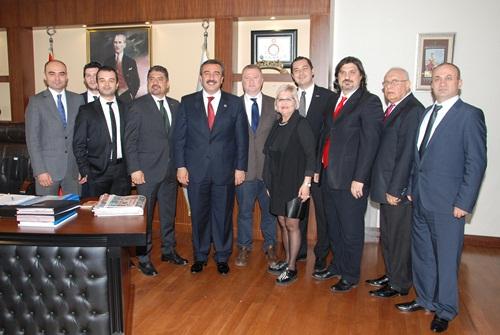 Başkan Çetin ADSİAD yönetimiyle görüştü
