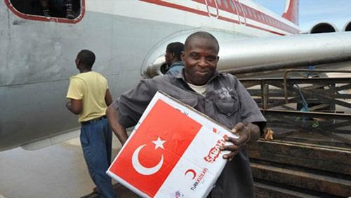 Türkiye yardım konusunda ABD'yi geride bıraktı