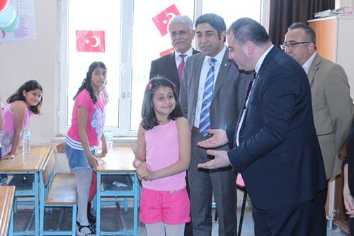 Baromuz, 23 Nisan Çocuk Ve Egemenlik Bayramı Nedeniyle Sakıp Sabancı İlköğretim Okulunu Ziyaret Etti