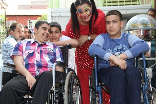 Engelli Çocuklar, 23 Nisan'da Engel Tanımadı