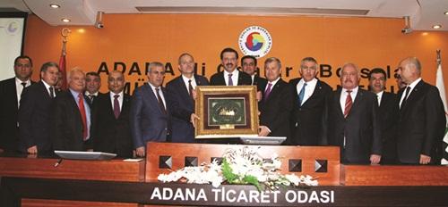 Hisarcıklıoğlu: Adana bir dünya kenti olma yolunda hızla ilerliyor