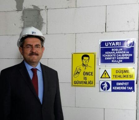 Ünüvar'ın 04-10 Mayıs İş Sağlığı ve İş Güvenliği Haftası Mesajı