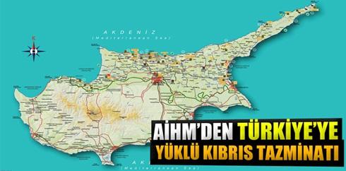 AİHM'den Türkiye?ye 90 milyon Euroluk Kıbrıs tazminatı