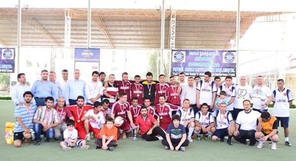 ASKON 2014 Futbol Turnuvasında Şampiyon AKYEM