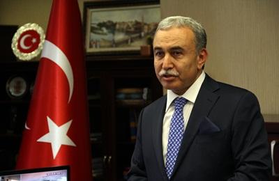 Adana Valisi Büyük?e Ziyaret