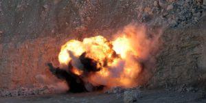 Bombalı araçta ele geçen 50 kilo bomba böyle patlatıldı