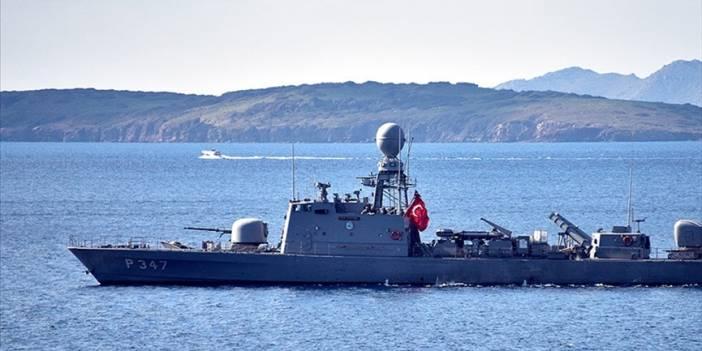 Türk ve Yunan Sahil Güvenlik ekipleri Kardak yakınlarında bekliyor