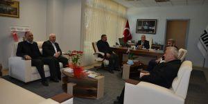 ASKON Adana Şubesin'den Tüik Bölge Müdürü Şahin'e Ziyaret
