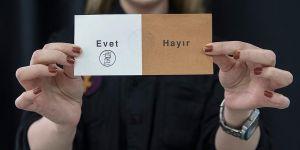 Halk oylamasında sandıktan 'evet' çıktı