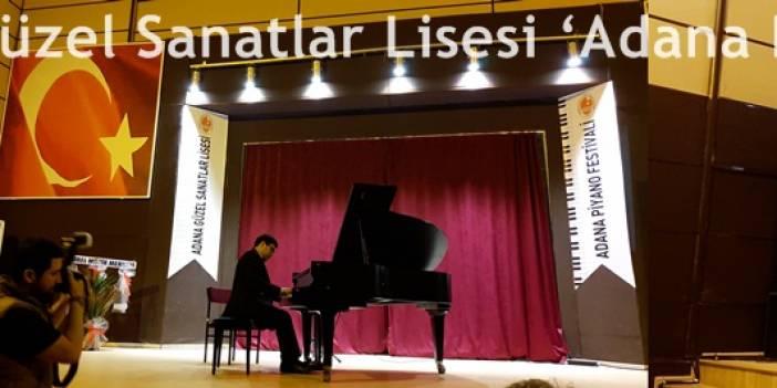 'Adana Piyano Festivali' Başladı..