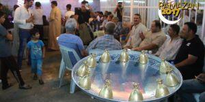 Kerkük'te ramazan gecelerinin eğlencesi 'sini zarf' oyunu