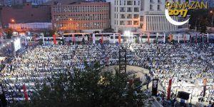 Diyarbakır'da 10 bin kişilik iftar programı