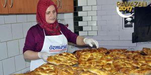Ramazan pideleri 'Ayfer' ustadan