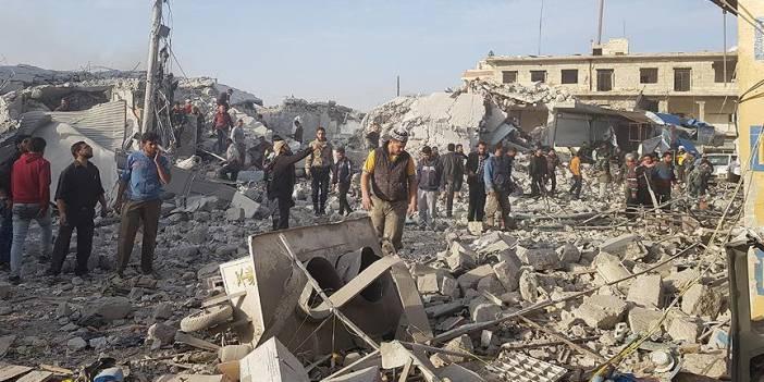 İdlib'deki saldırılardan kaçan 31 bin sivil daha Türkiye sınırı yakınlarına göç etti