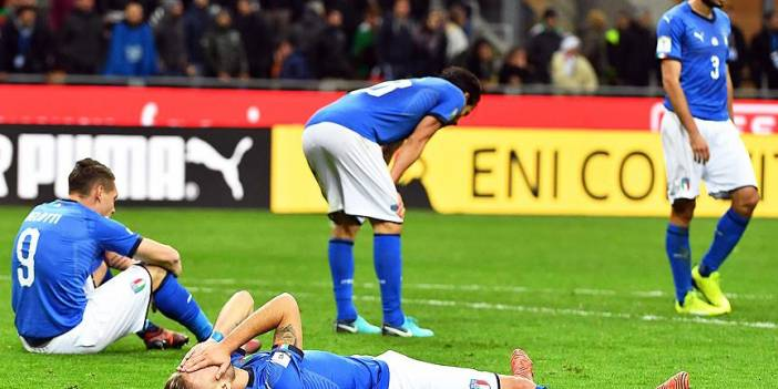 İtalya 1958'den beri ilk kez Dünya Kupasında yer alamayacak