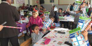 Adıyamanlı köy okulunaTÜKİD desteği
