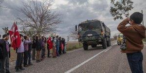 Çocuklardan Zeytin Dalı Harekatı'na destek